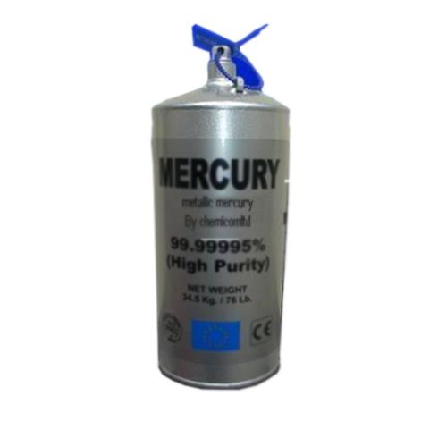 Mercury In Flask (35 kgs)